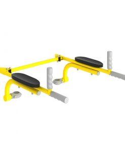 poręcze podnoszone żółte